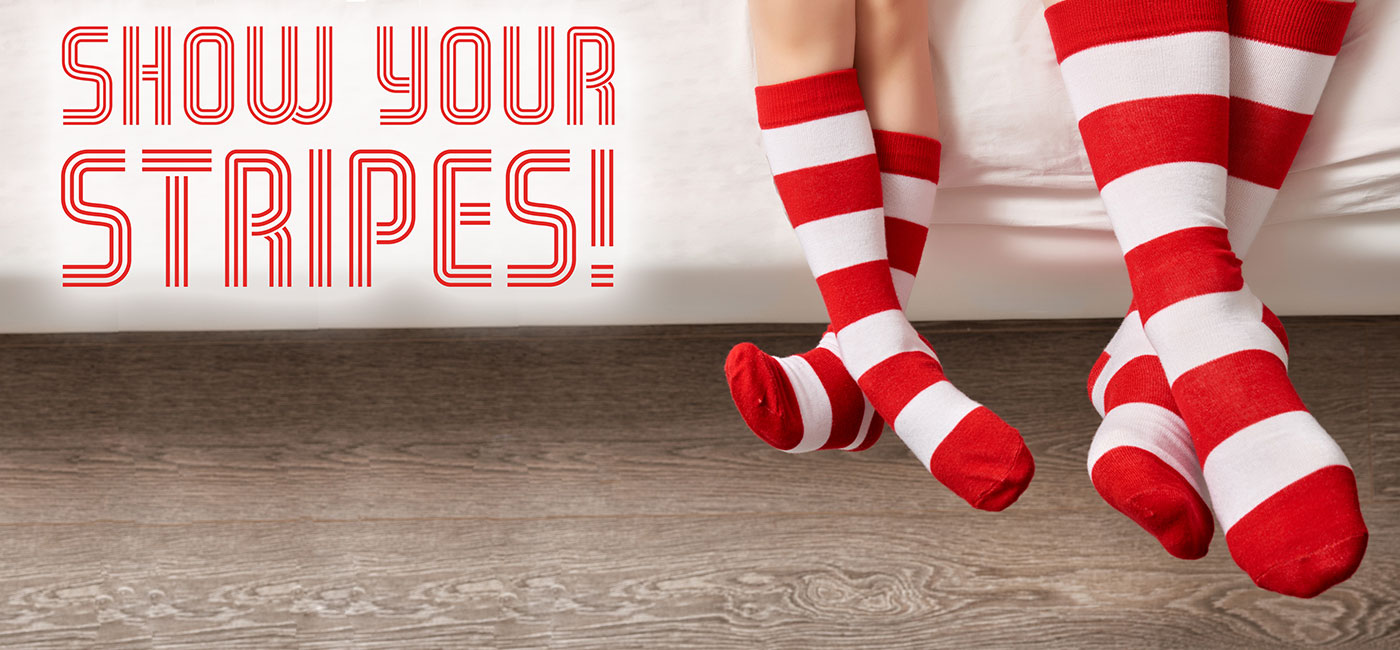 Donate $20 in support of RMHC Manitoba today. Click the stripes above to learn how you can Show Your Stripes for RMHC Manitoba!